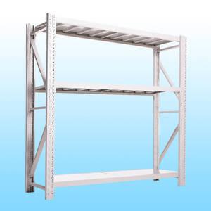 易存轻型货架仓储家用层架收纳架子置物架储物架白色120*50*180三