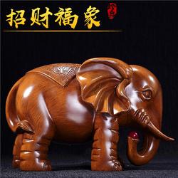 大象摆件一对招财开业礼品客厅玄关电视酒柜办公室吉祥工艺装饰品