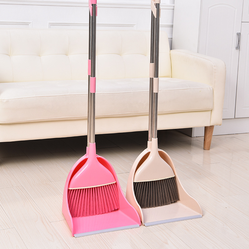 扫把簸箕套装组合家用软毛魔术扫帚笤帚扫地刮水器地刮扫头发神器