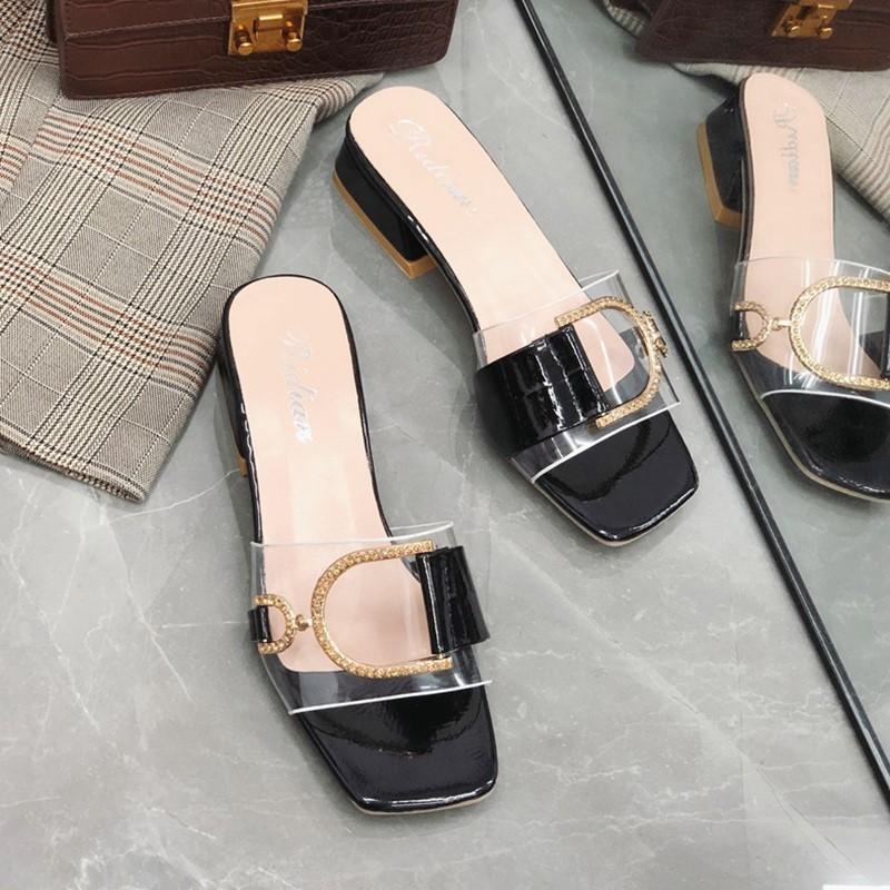 限时2件3折2019新款外穿时尚款街头潮鞋拖鞋