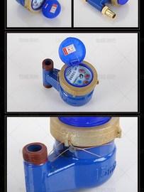 宁波家用水表自来水节水器国标止回阀防空转机械4/6分旋翼式防