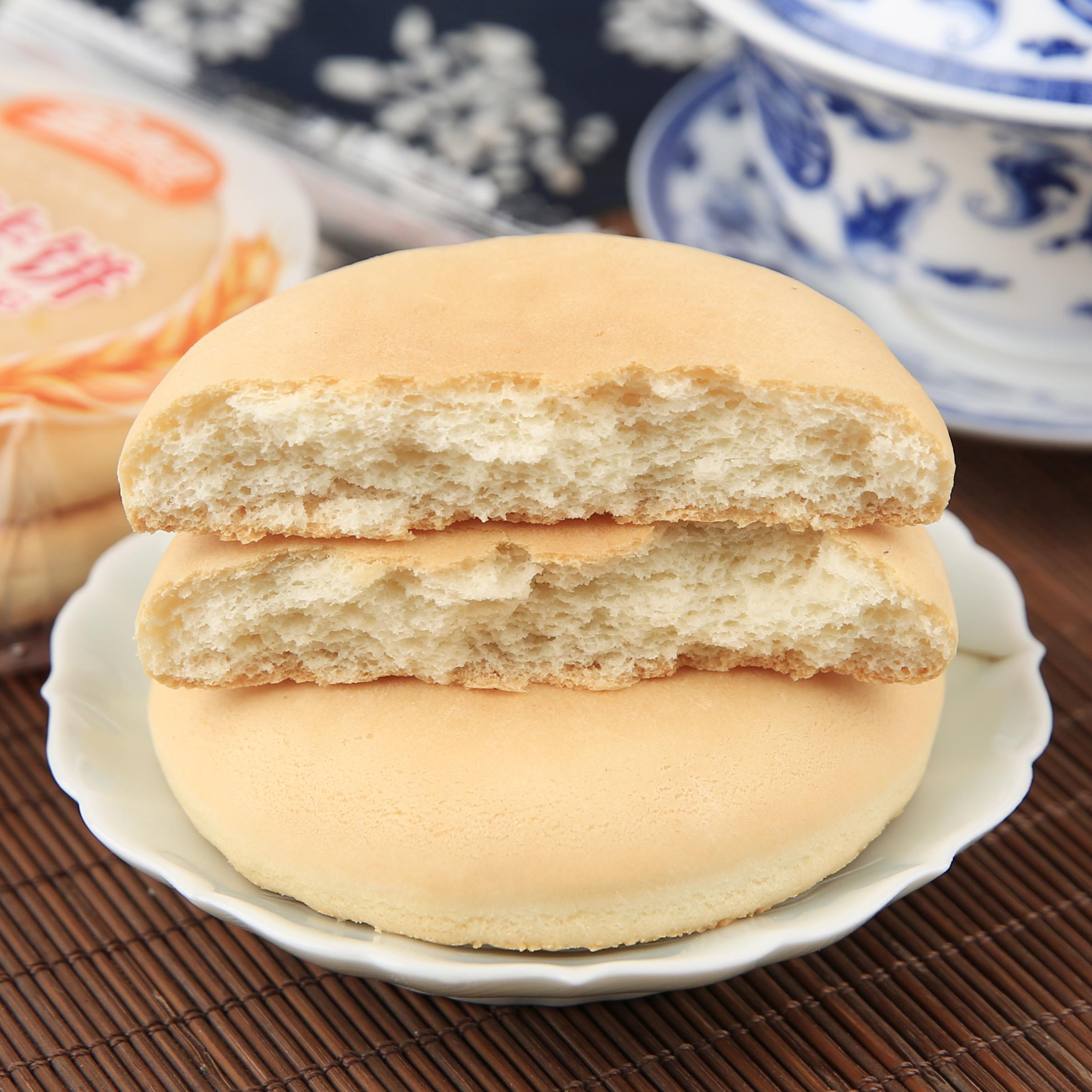 拍2减5元】奶油法饼湖南特产零食小吃糕点整箱面包1000g早餐饼