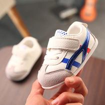 婴儿鞋春秋款6-12个月9男女宝宝鞋软底学步鞋秋季0-1岁新生儿鞋子