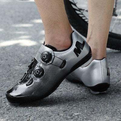 公路自行车锁鞋男透气专业骑行鞋动感助力鞋单车双旋钮自锁鞋装备