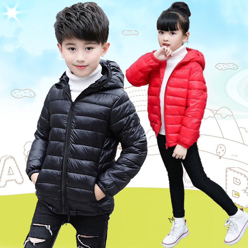 2020新款儿童棉服轻薄款冬季羽绒服