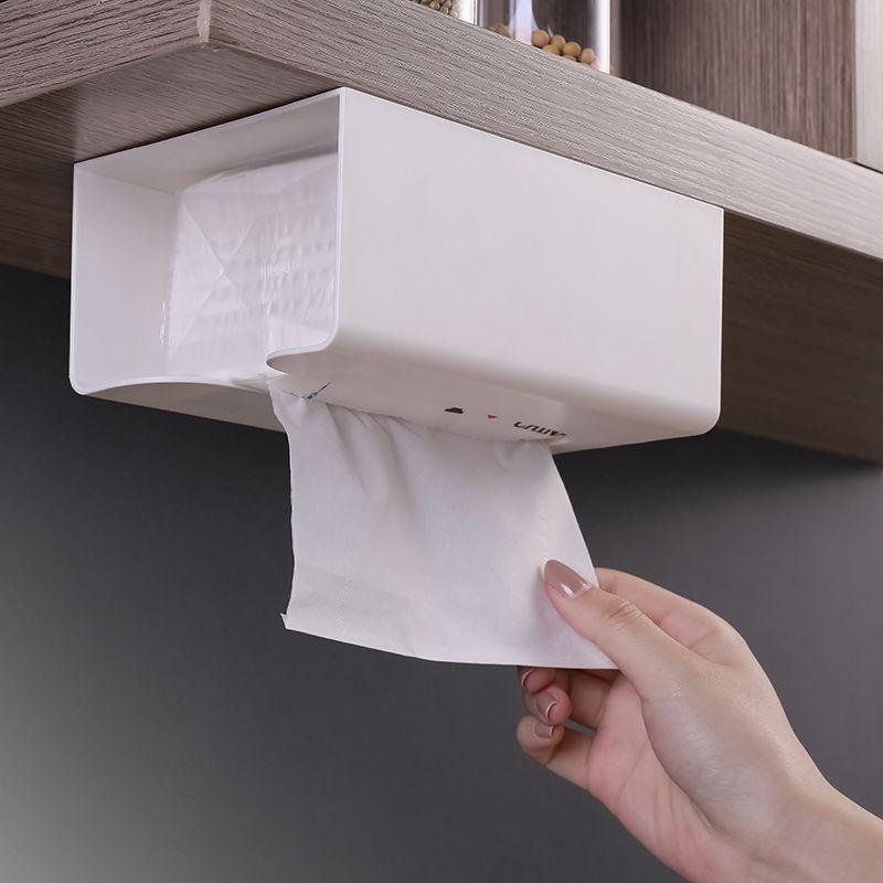 抽纸盒壁挂家用客厅创意厨房纸抽盒收纳盒餐巾纸厕所纸巾盒挂壁式图片