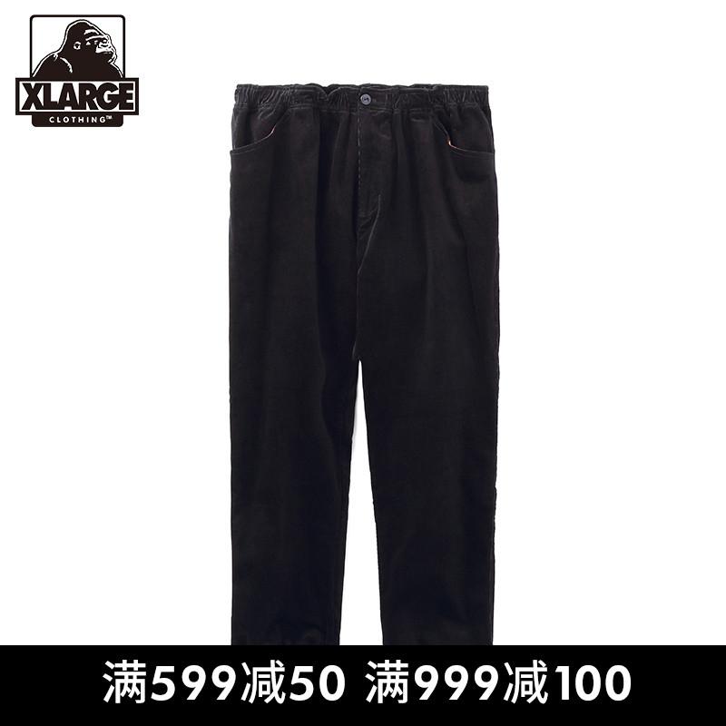 XLARGE 潮流男装 宽?#23578;?#38386;长裤