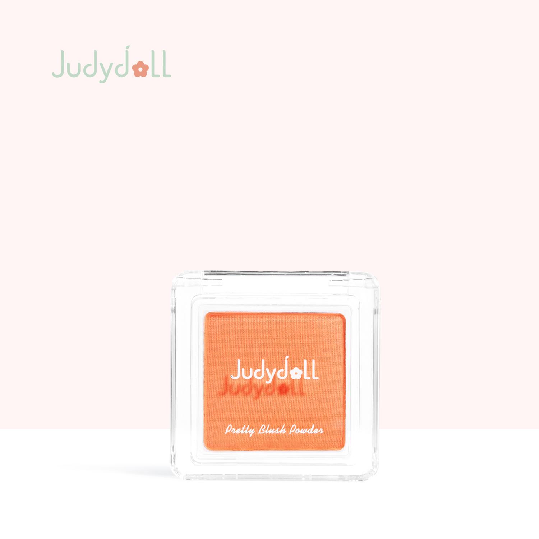 Judydoll橘朵润色丝滑单色腮红胭脂显白气色质高潮新色腮黄日杂橘