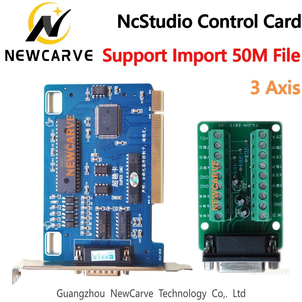 CNC 3 Axis Ncstudio Control System Support 50M Large File  C
