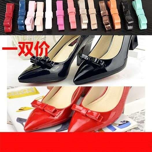 新款蝴蝶结鞋扣鞋皮鞋鞋花鞋扣鞋子上的饰品装饰配饰修鞋配件辅料