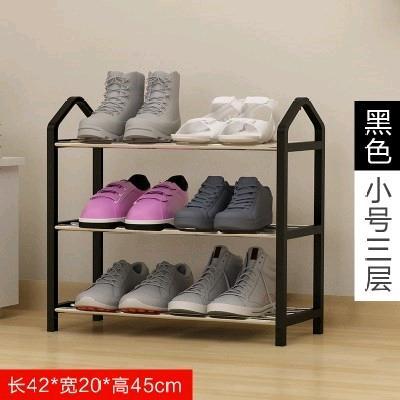 。宿舍鞋架收纳大学生双层寝室床下女生简易架子床头多层叠加空间