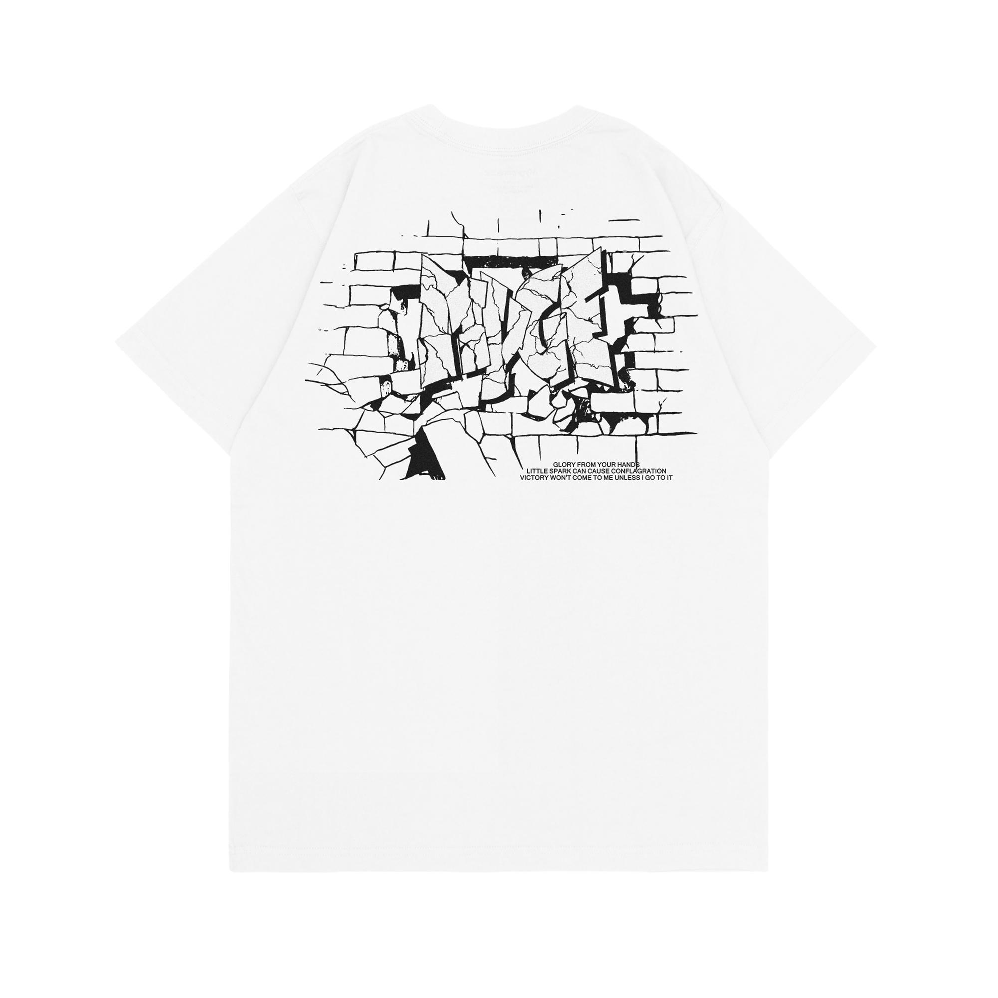 MYGE 2020S/S GRAFFITI WALL TEE 模拟墙体涂鸦印花T恤