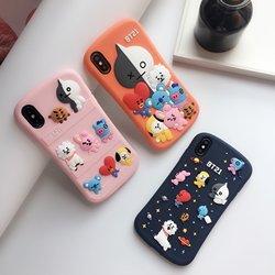 手机壳苹果12promax防摔可爱少年团7p立体xr适用iphone11硅胶日韩