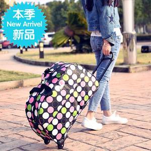 小型行李箱手拉箱行李袋12提拉运动鼓包多用旅行包时尚男女小号提