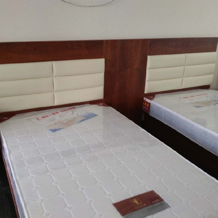 Business Express Hotel guest hotel standard room single room dormitory with full set of furniture upholstery bedside table bed box frame customization