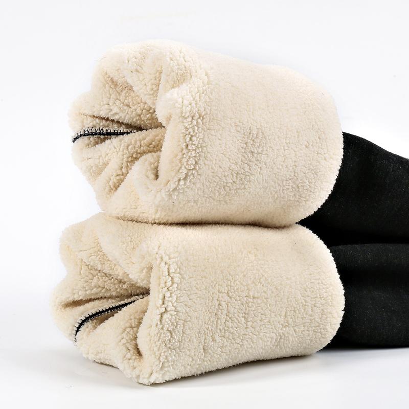 冬季羊羔绒打底裤女一体加绒加厚保暖棉裤超厚高腰显瘦外穿保暖裤