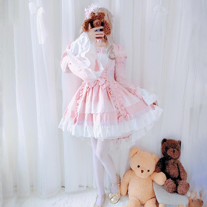 花嫁lolita正版原创萝莉塔公主裙子
