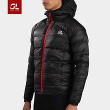 Sports down jacket men and women burning equipment gearlab love ultra-light thermal belt cap water-repellent running down jacket