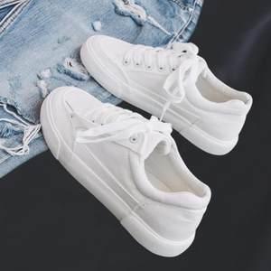 小白鞋2020新款百搭白色潮流学院风清新单鞋春秋款ins女鞋春秋季