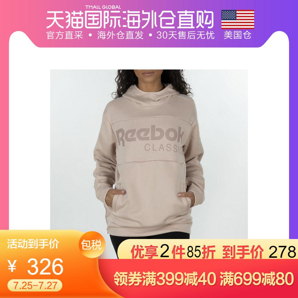 【美国仓直发】Reebok Classics Graphic 锐步女子长袖卫衣 经典