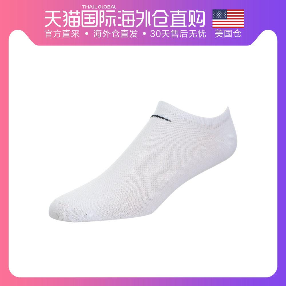 美国直邮Nike Lightweight 耐克女子浅口船袜 多颜色运动袜 纯棉
