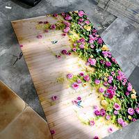 防滑可裁剪地垫3d地毯门垫进门地垫厕所垫子地垫卫生间家用厨房垫
