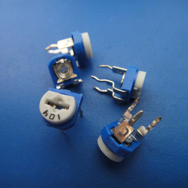 可调电阻器 限流电子元器件 限流电阻 电子元器件大全diy电路材料