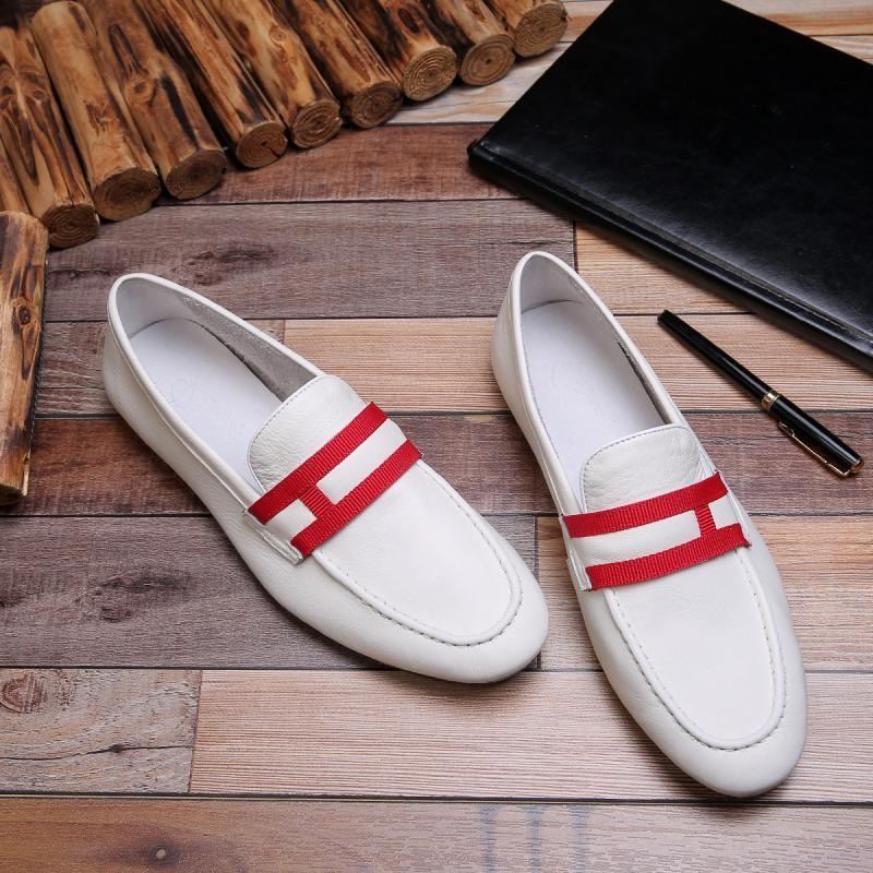 Hot selling high-end trend Korean version spring and summer new boys business casual shoes