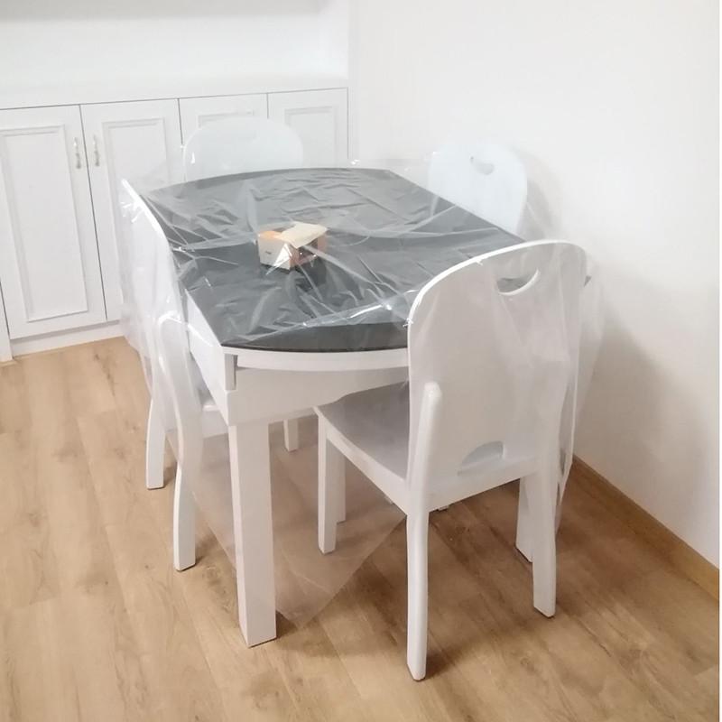 防尘布装修家具保护膜防尘膜塑料床罩沙发盖布遮盖遮尘家用防尘罩