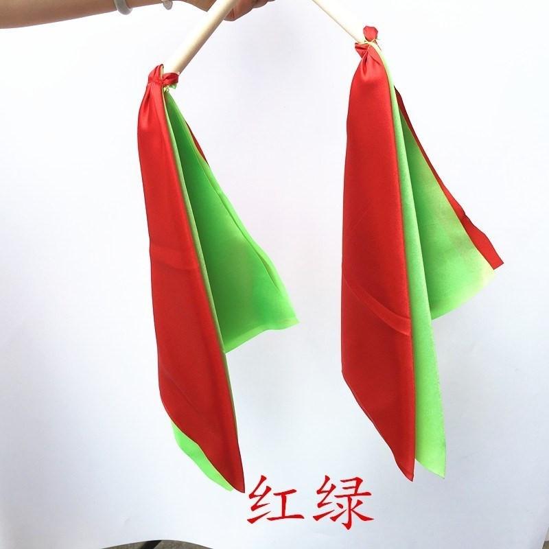 秧红绸带舞蹈红绸子红绸布广场舞红绸儿童彩绸舞带棒腰鼓彩带