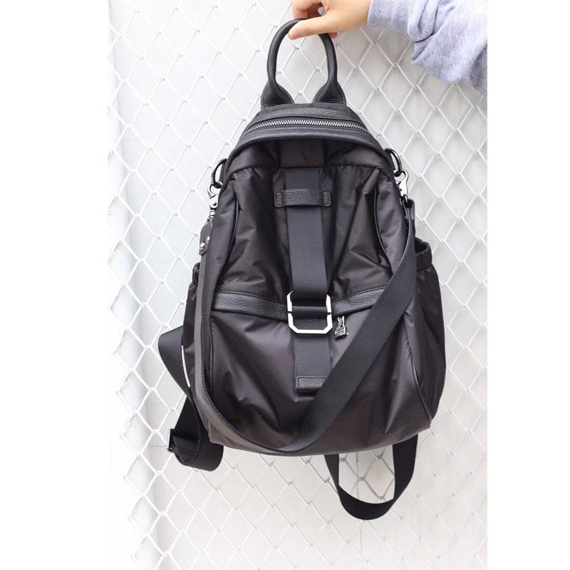 ZX brand literature and art RETRO light leisure messenger bag waterproof nylon single shoulder bag double shoulder travel bag couple bag