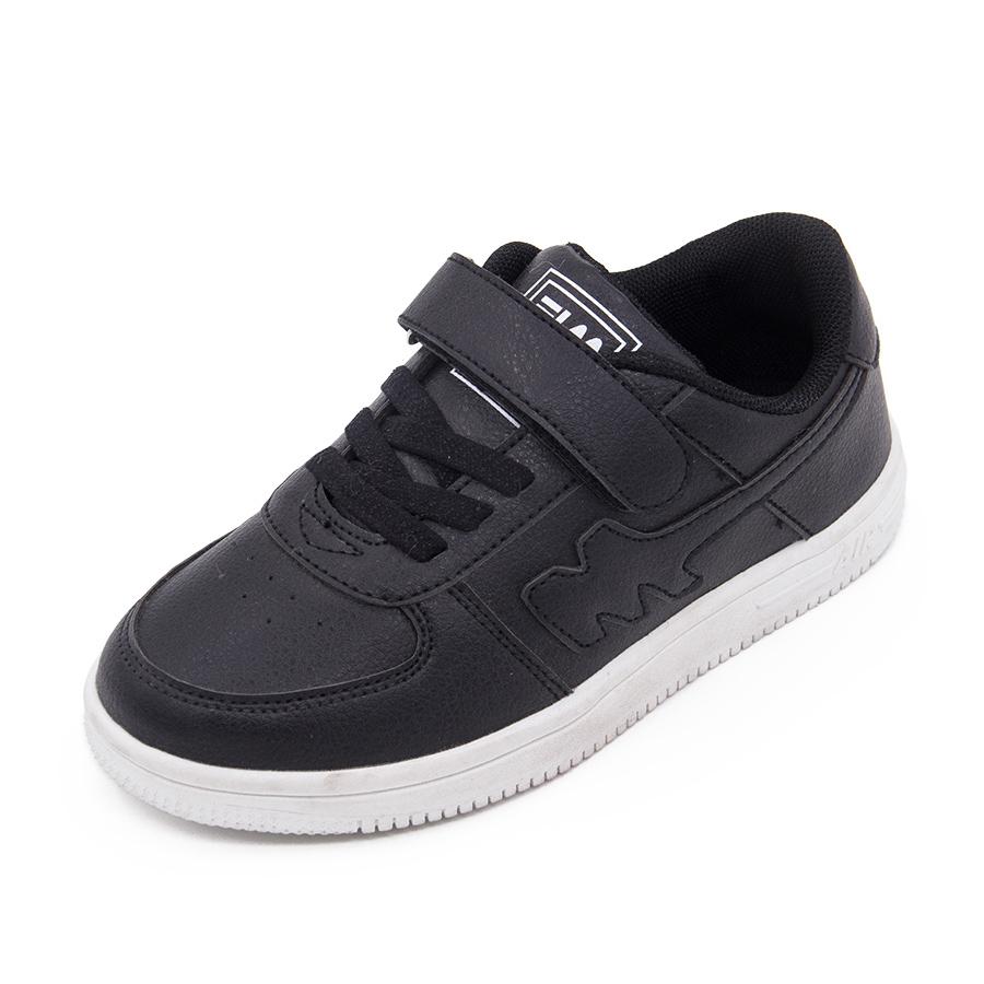 富羅迷兒童鞋女童鞋 鞋 鞋男童鞋子女大童黑色百搭 板鞋