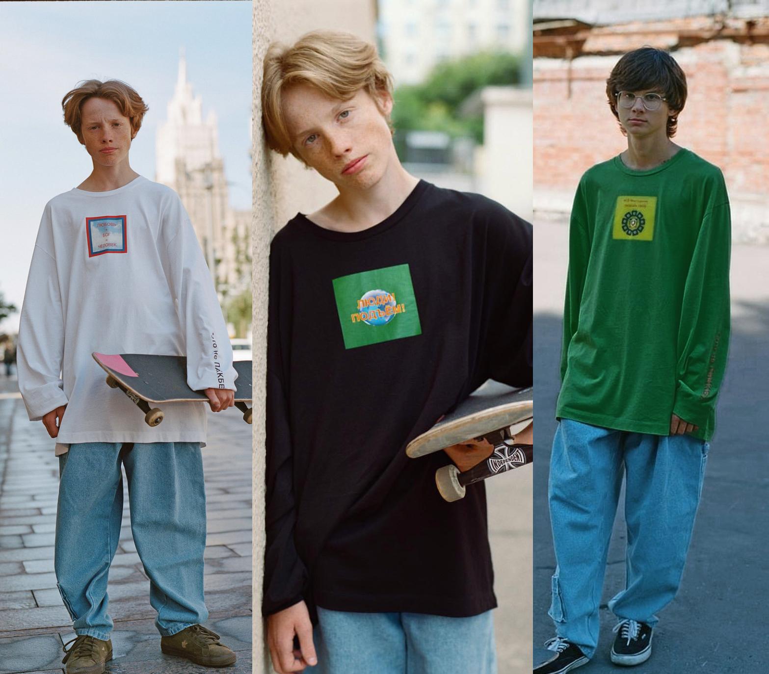 欧美街头纯棉长袖t恤男女情侣青少年原宿复古潮T嘻哈绿色打底衫