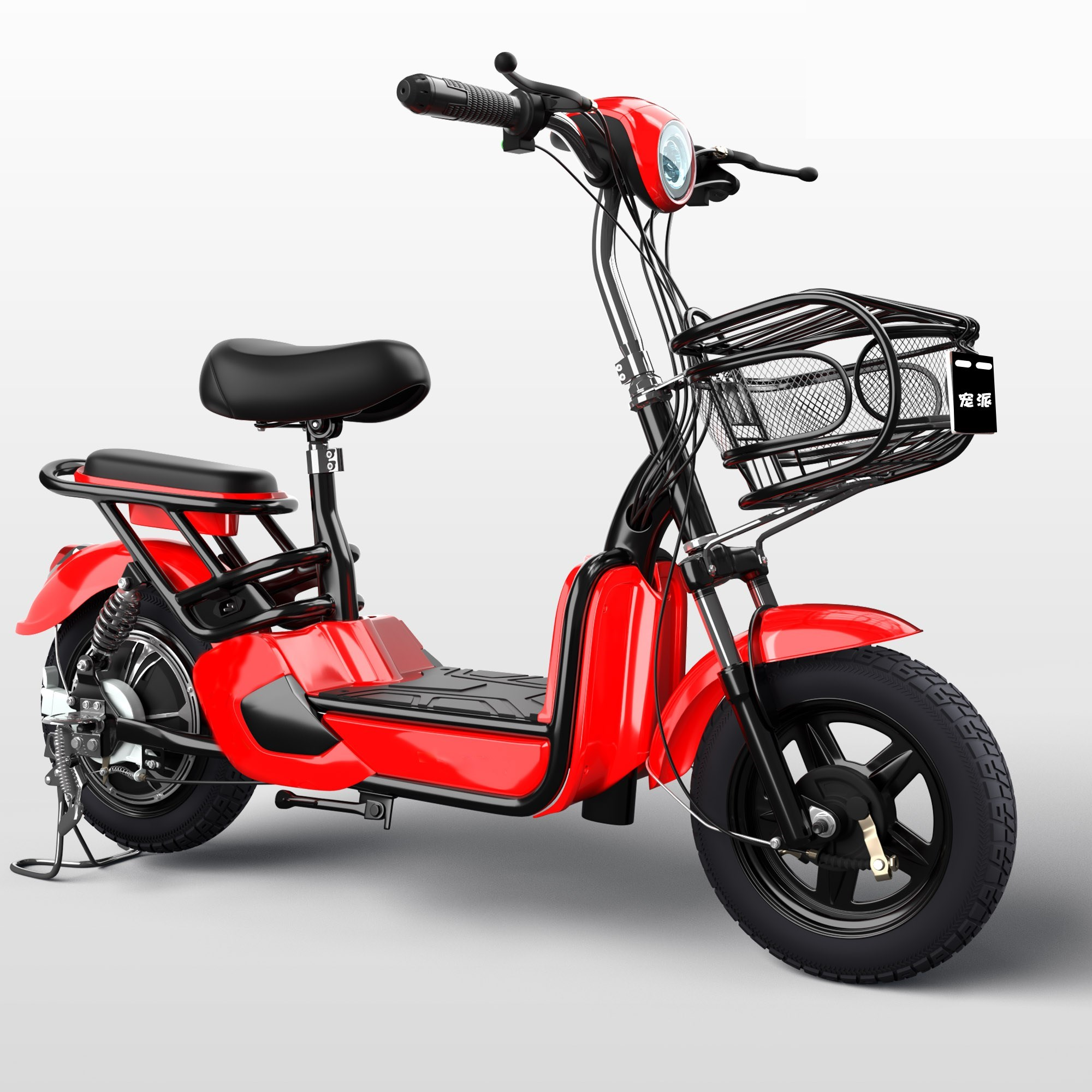 Scooter, electric universal mini car with portable power for boys small electric bicycle