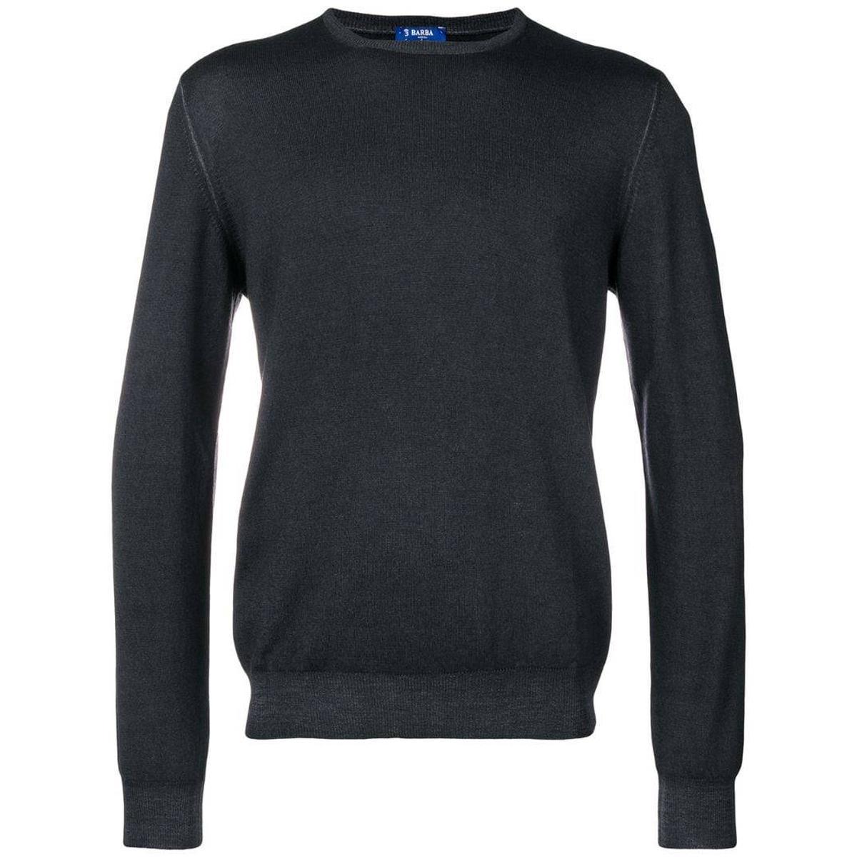 代购Barba Napoli 基本款毛衣2021新款奢侈品针织衫商务休闲复古
