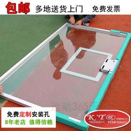 国家标准户外高强度钢化玻璃篮板篮球板可定制搭配篮球板框篮筐