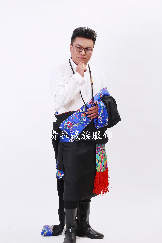 苏拉克夏西藏藏族服装品新款男装藏袍男士藏族服饰