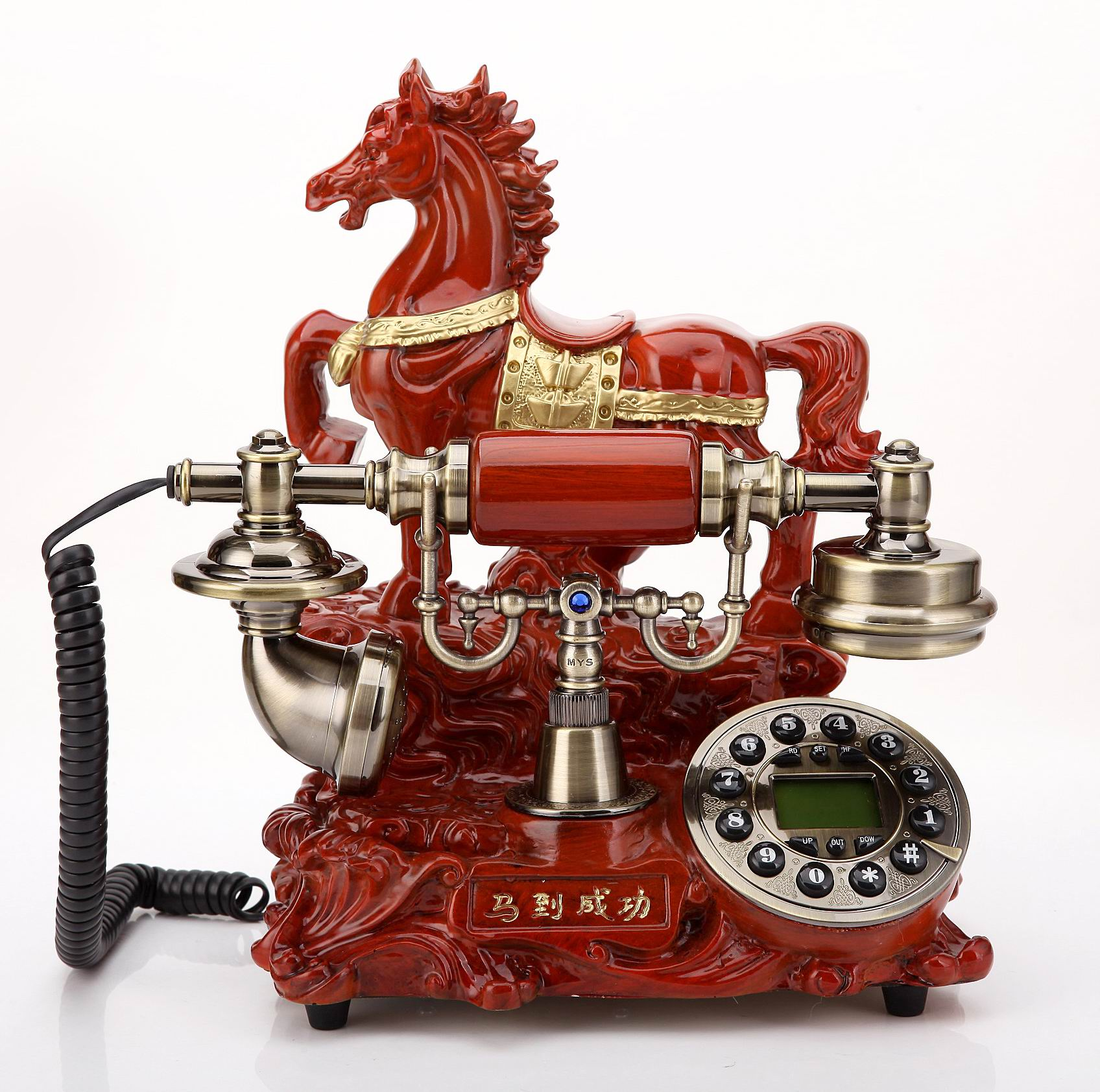 European style antique telephone fashion success old style villa retro mobile card fixed home telephone landline