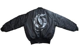 罗志祥 GOTNOFEARS GNF 正品 宽版铺棉夹克外套 黑色