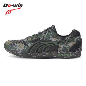 领10元券购买多威dowin07迷彩跑步鞋男女减震黑色作训鞋软底训练运动鞋AM2713