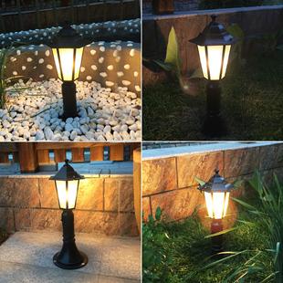太阳能草坪灯 led户外防水别墅花园欧式庭院灯草地灯室外家用路灯