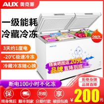 冰柜商用家用大容量小型迷你小冷柜节能双门冷藏保鲜冷冻两用158L