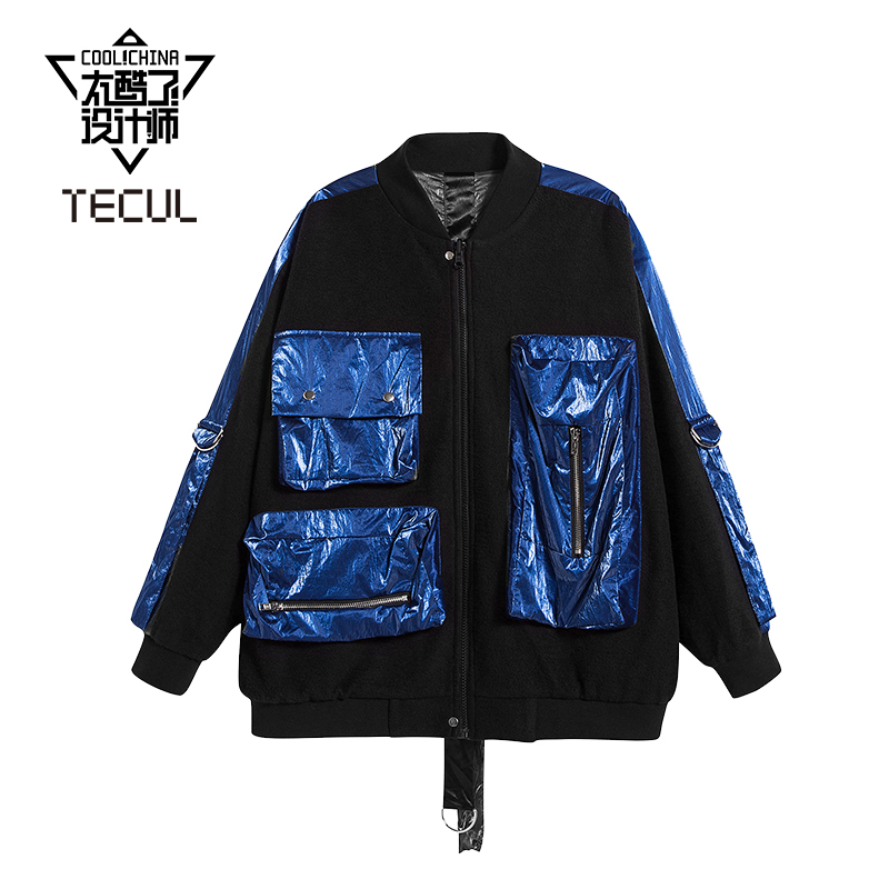 Tecul is so cool, designers show the same fashion brand new niche womens wear jacket on both sides