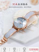 女士手表女ins风简约气质小众品牌手表女森系学院风学生国产腕表