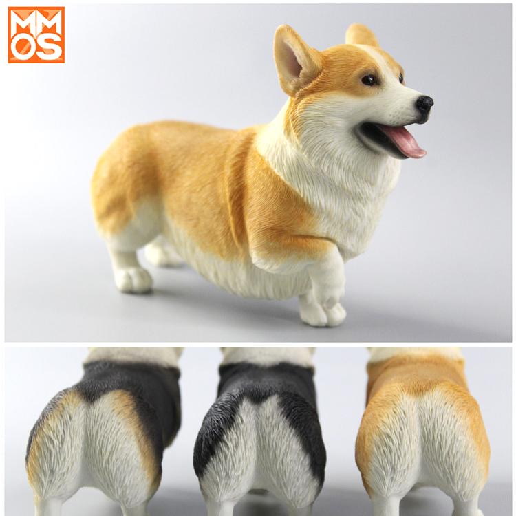 [MOKA动物星球]可爱创意柯基犬模型车载车内家居装饰品摆件男女