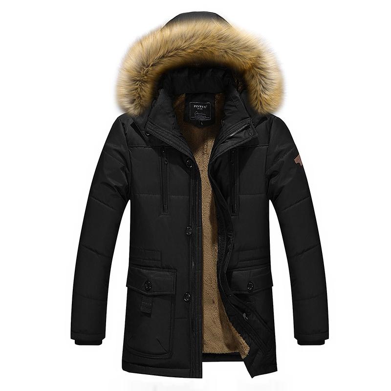 中老年棉衣男士爸爸冬装外套加绒加厚棉服中年人男装冬季爷爷棉袄