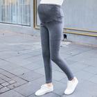 孕妇打底裤加绒秋冬装外穿长裤显瘦托腹保暖小脚裤3002
