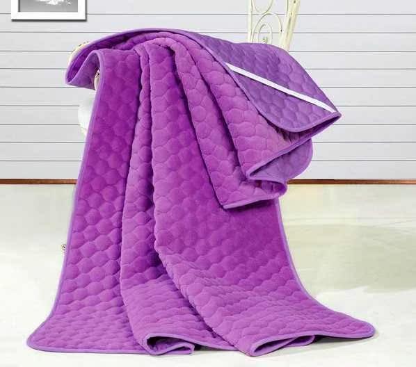床珊瑚绒宾馆防滑1米5学生被褥子8双人家用全民疯抢四季护垫加厚