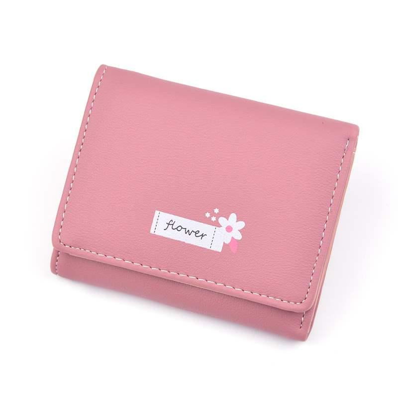 Change student 2021 womens wallet womens short new Korean 30% discount thin card bag small wallet