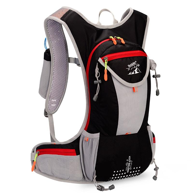 跑步背包双肩运动包户外骑行越野长途轻便防水贴身专业自行车背包